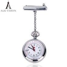 Alk fob карманные часы для медсестры брендовые кварцевые с календарем
