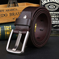 High Quality First Layer Genuine Leather Belt Men Simple Vintage Cinturon Cuero Hombre