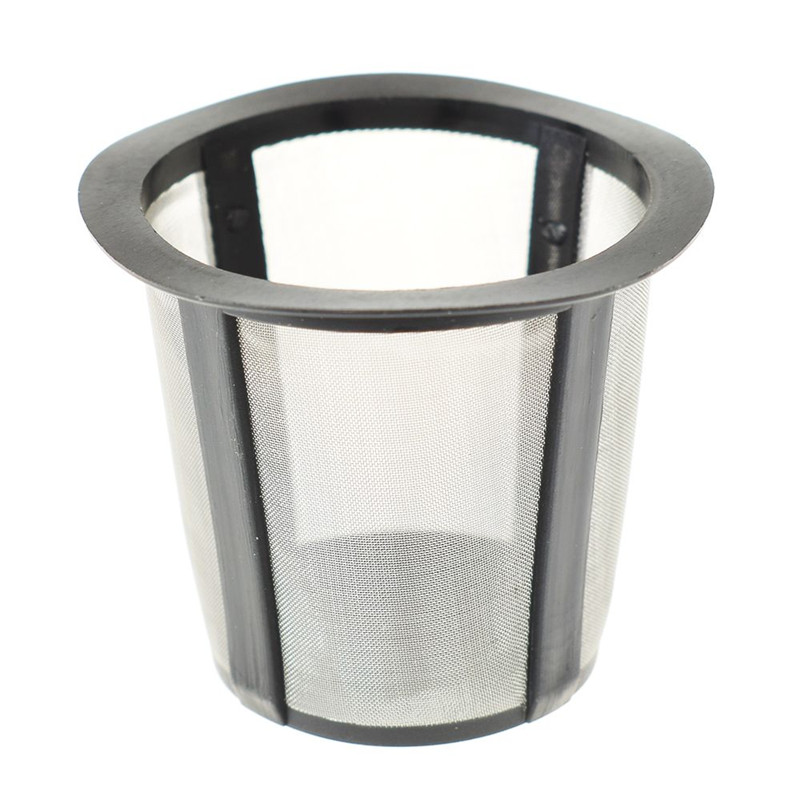 1pcs Stainless Steel Coffee Or Tea Filter Reusable Mesh Filter Easy To Fill And Clean Convenient To Carry And Transport