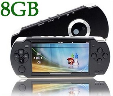 HOT SELL 8GB 4.3 Inch PMP Handheld Game Player MP3 MP4 MP5 Player Video FM Camera Portable Game Console