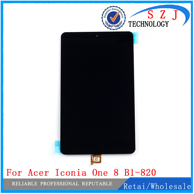 New 8'' inch for Acer Iconia One 8 B1-820 LCD Display with Touch Screen Digitizer Glass Panel Front Replacement Glass for new lcd display touch screen digitizer with frame assembly replacement acer a1 820 8 inch black free shipping