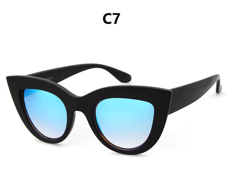 HTB1nJKfRpXXXXarapXXq6xXFXXXO - Women's cat eye sunglasses ladies Plastic Shades quay eyewear brand designer black pink sunglasses PTC 221