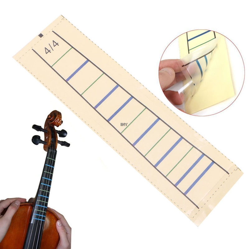 Beautiful Violin Fretboard Sticker Tape Fiddle Fingerboard Chart Finger Marker For 4/4 1pc Iny Sports & Entertainment Violin Parts & Accessories