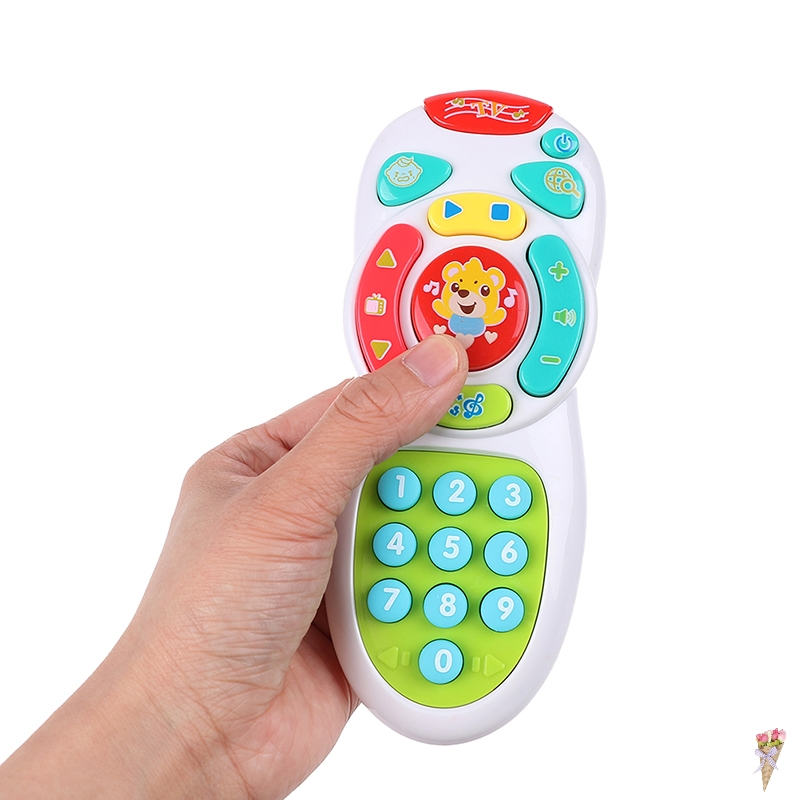 Baby Vocal Toys Music Mobile Phone TV Remote Control Early Educational Toys Gifts Electric Learning Machine Sound