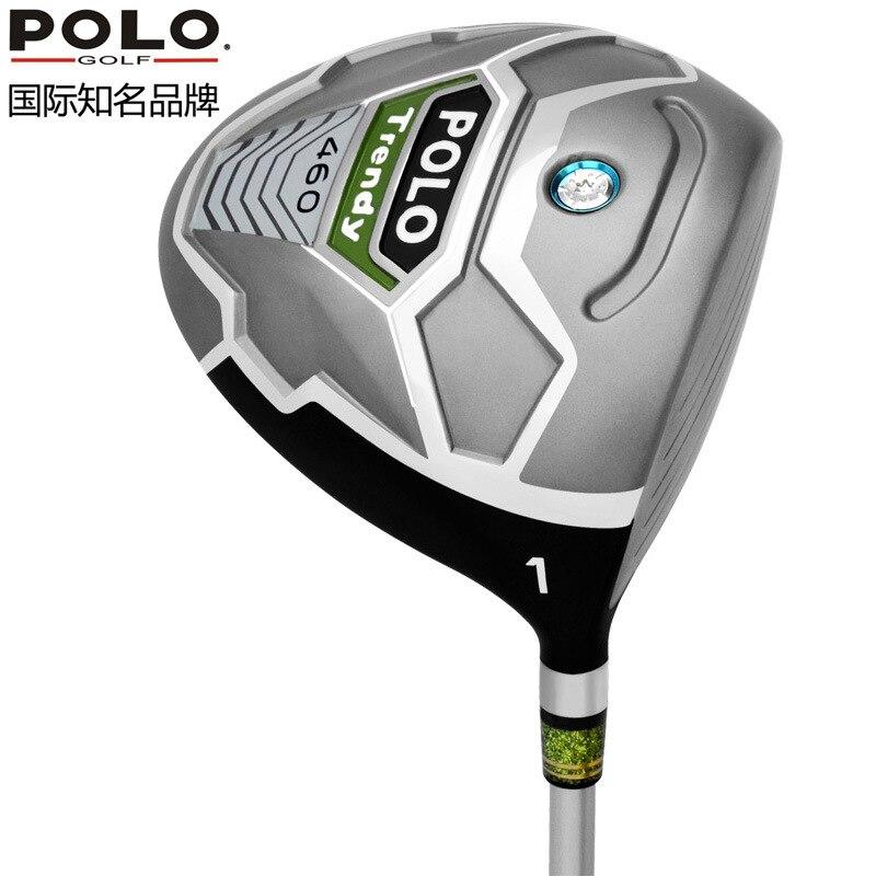 Polo golf clubs conductor titanium de la aleación 1 maderas buhardilla 10.5/long