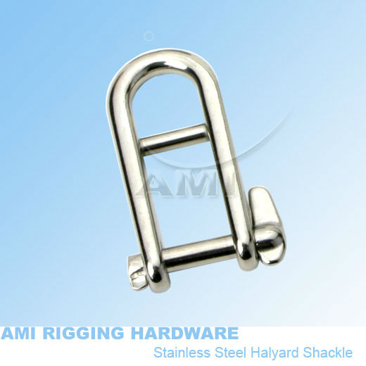 US $3.81 10% OFF|6mm, Halyard Shackle, stainless steel 316, AISI 316, marine hardware, boat hardware, rigging hardware|hardware cloth|hardware bed|hardware logos - AliExpress