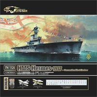 Model Assemble 1/700 British Royal Navy aircraft carrier USS 1937 Toys