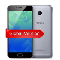 Original MEIZU M5S Global Version 3GB 16GB/32GB Cell Phone MTK6753 Octa Core 5.2