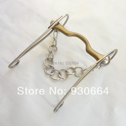 5 inches stainless steel gag bit copper mouth bit horse equipment h0922 .jpg 250x250