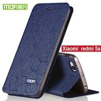 For Xiaomi Redmi 5a Case Flip Cover Mofi Original Stand Holder Redmi 5A Luxury PU Leather