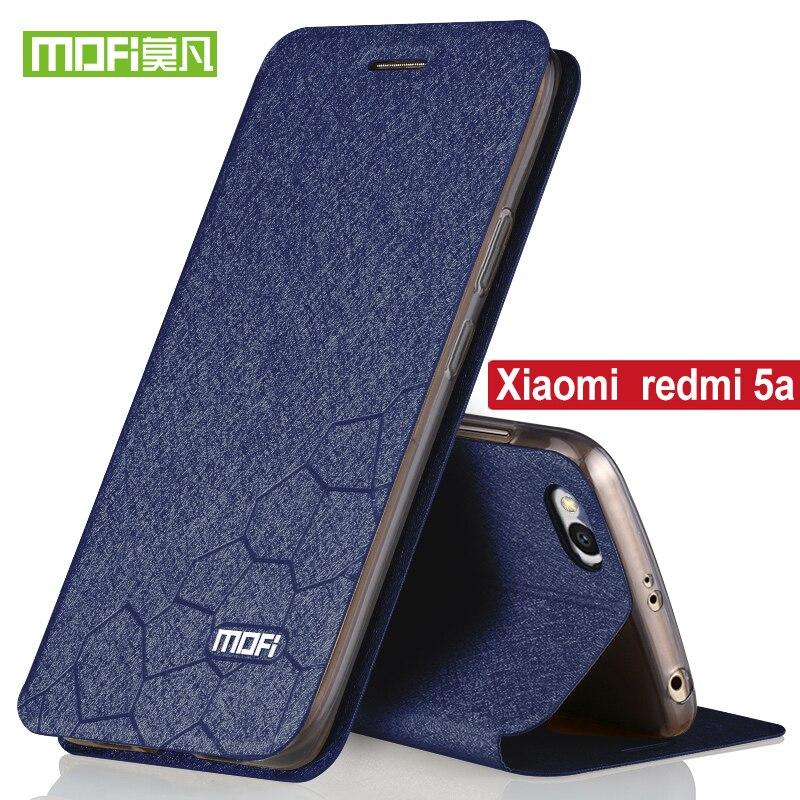 Für Xiaomi Redmi 5a Fall Flip-Cover Mofi Original Ständer Halter Redmi 5A Luxus Pu-leder Cover silicon Xiaomi Redmi 5A pro fall