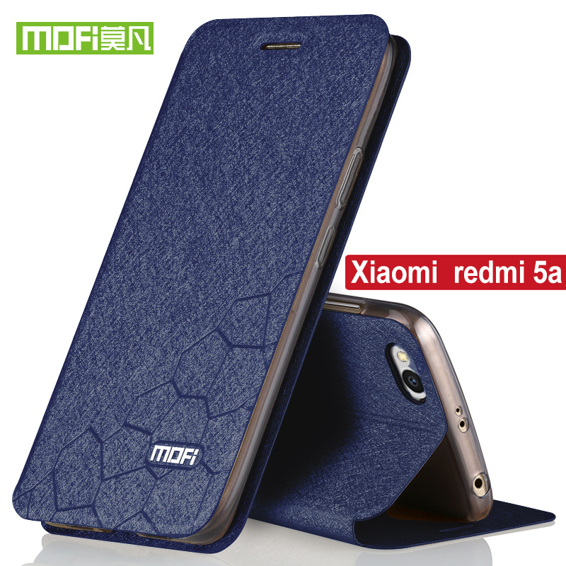 huge selection of cb6e0 fae0b For Xiaomi Redmi 5A Case Flip Cover Original Stand Holder Redmi 5A Luxury  PU Leather Cover Silicon Xiaomi Redmi 5A Pro Case