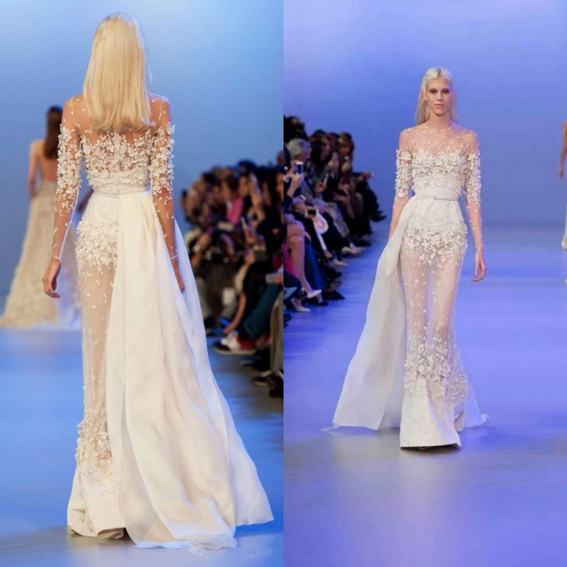 Aliexpress.com : Buy Elie Saab Couture Dress Evening Dresses Flora ...