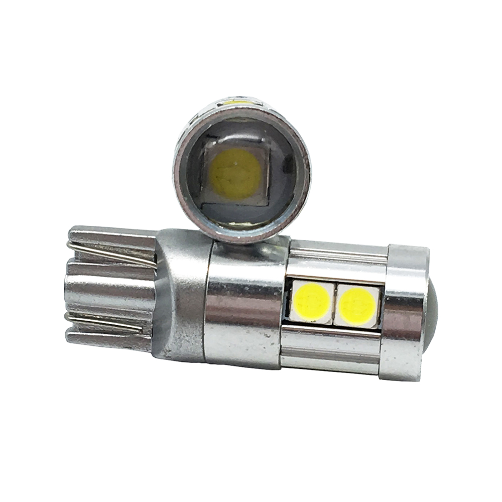 10x T10 3030 9 SMD 9 LED 12V 24V avtomatik paz lampa ampul avtomobil - Avtomobil işıqları - Fotoqrafiya 3