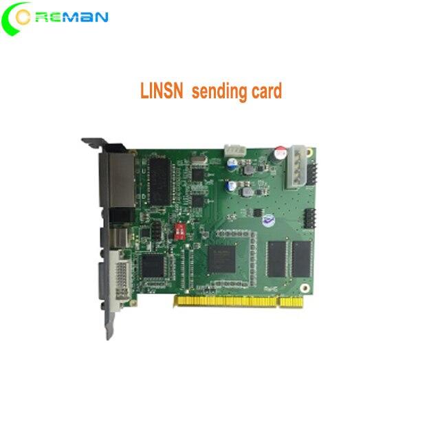 LINSN sending card TS802D P2 P1 5 indoor led module sending card novastar wifi controller