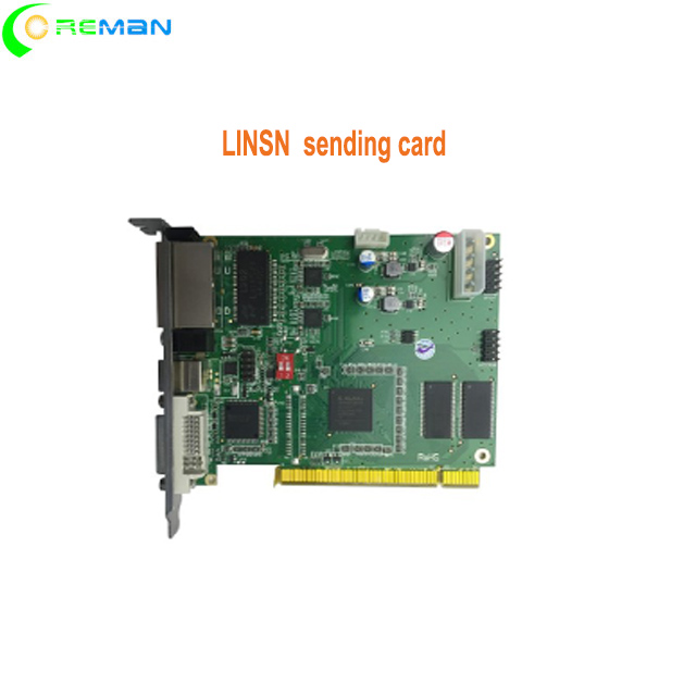LINSN sending card TS802D P2 P1.5 indoor led module  sending card novastar wifi controller-in LED Displays from Electronic Components & Supplies