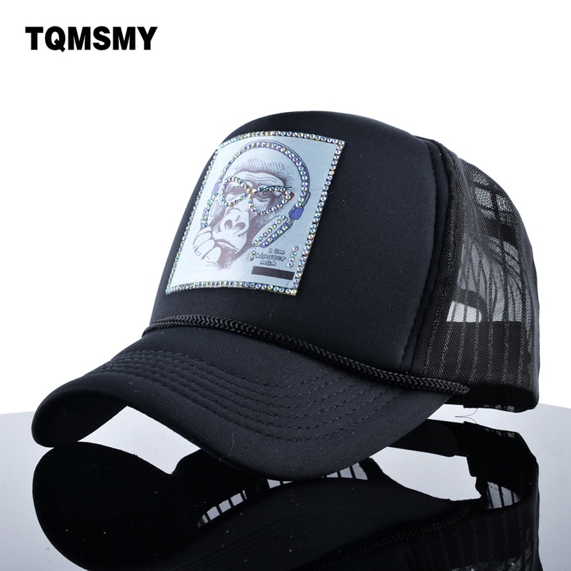 TQMSMY Novelty Sun Hats For Women Hip hop Baseball Cap diamond Snapback Caps Mesh Bone Men's Casquette Animal pattern hat Gorras championship championes baseball cap drake dad hip hop hats bone snapback polo skateboard men women hat gorras casquette caps
