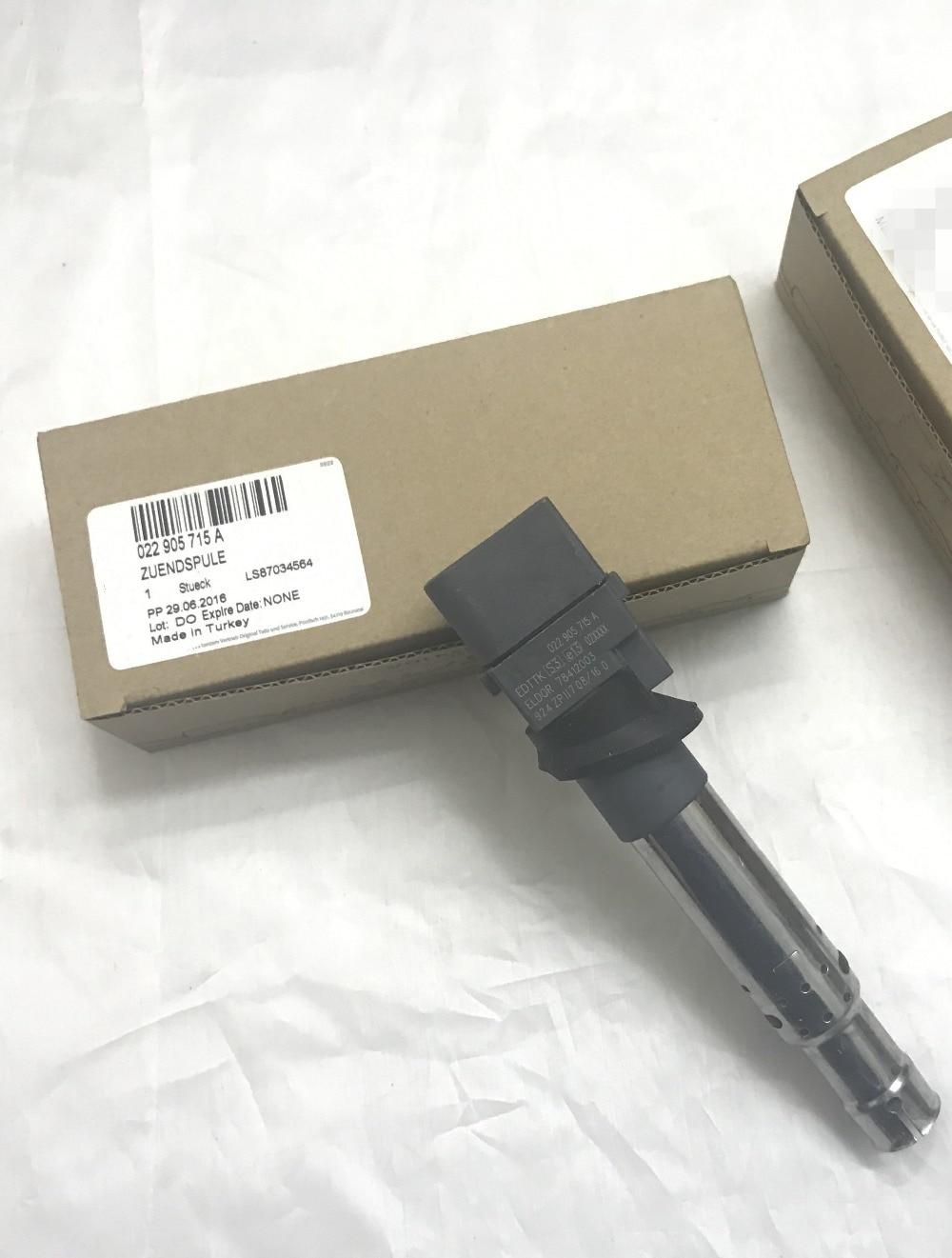 New 2pcs Genuine Ignition Coils Fit For AUDI Q7 VW Passat R36 CC Touareg SUPERB 3.2 3.6 VR6 FSI 022905715