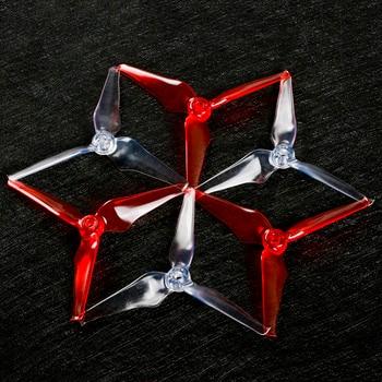 8pcs EMAX AVAN flow 5 inch 5043 3blade tri-blade propeller prop for 5INCH iFlight ix5 XL5 FPV Racing frame drone kit drone helipad