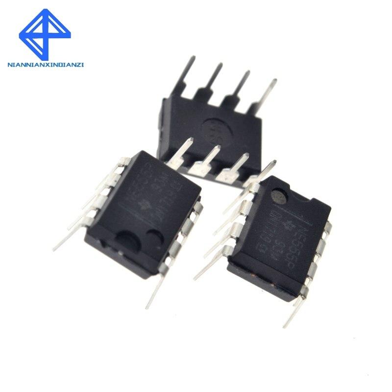 10 pces ne555 555 dip-8 ic temporizadores novos de precisão de boa qualidade