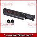 200x ampliación Portable Komshine KIS-200 conector de fibra óptica microscopio / Inspector con 1.25 / 2.5 mm adaptador