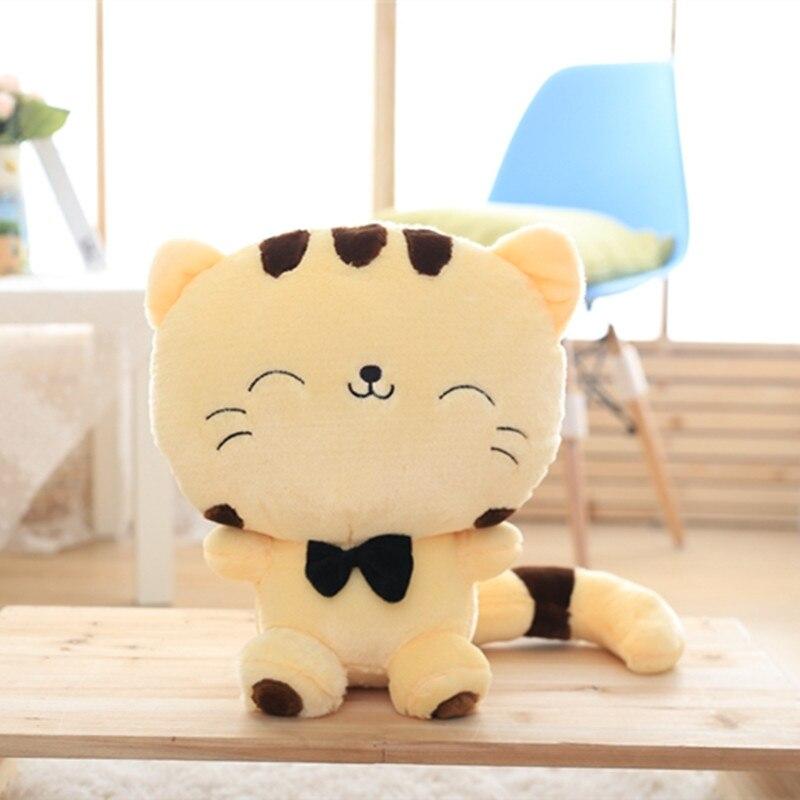 Stuffed e Plush Animais sorriso gato de pelúcia brinquedos Material : Pelúcia