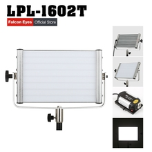 Falconeyes Diving Video Light 32W Daylight Panel Dimmable 120pcs LED Studio Photo Interview Lighting LPL-1602T
