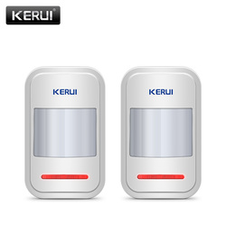 Беспроводной интеллектуальный датчик движения KERUI 433 МГц, 2 шт./4 шт./партия, детектор движения для GSM PSTN, домашняя сигнализация, без антенны, ин...
