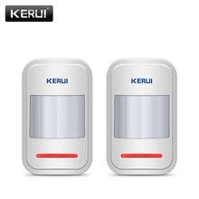 2pc/4pc Lot KERUI 433Mhz bezprzewodowy inteligentny czujnik ruchu PIR Motion dla GSM PSTN System alarmowy w domu bez anteny na podczerwień