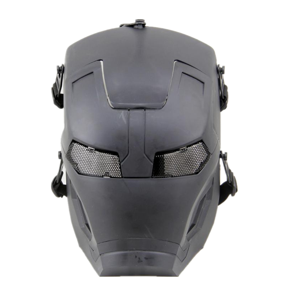 Tactical Skull Face Mask Military Iron Man Cs Field Skull Mask Respirators Movie Props Mask For Hunting Paintball Home