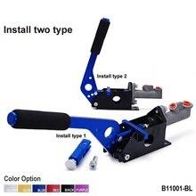 Bleu hydraulique course horizontale E-BAKE levier de frein à main dérive / à la dérive L-SHAPED B11001-BL