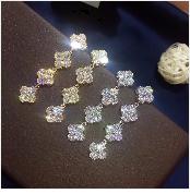 HTB1nJNvgeOSBuNjy0Fdq6zDnVXan JaneKelly Gold-Color Luxury Sparking Brilliant Cubic Zircon Drop Earring Necklace Jewelry Sst Wedding Bridal jewelry sets