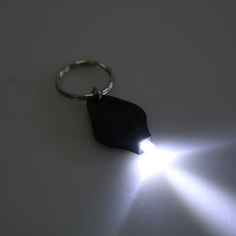 Outdoor Camping Emergency Key Ring Light  Mini Keychain Squeeze Light Micro LED Flashlight Torch