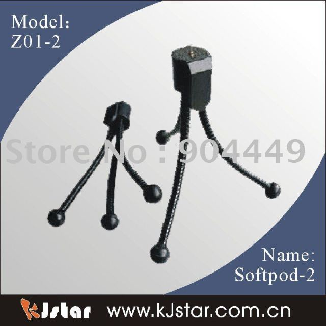 Free Shipping Retail Flexible Pocket Size Table Top Tripod (Z01-2)
