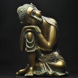 Спящий Будда украшения для дома креативная гостиная новый дом оформление входа предметы украшения Смола статуя ремесла