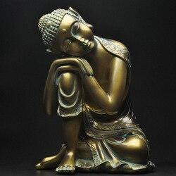 Schlaf Buddha hause schmuck kreative wohnzimmer neue haus eingang dekoration objekte dekoration harz statue handwerk