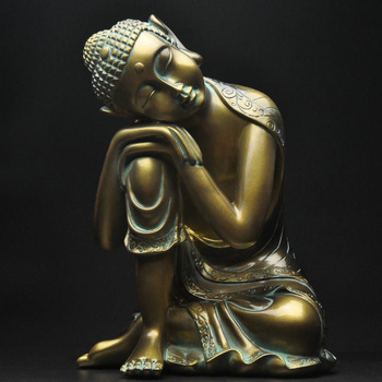 Sleep Buddha home jewelry creative living room new house entrance decoration objects decoration resin statue crafts
