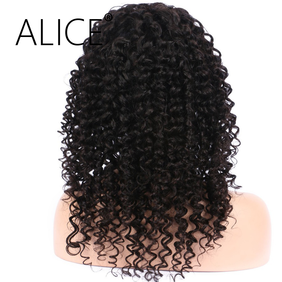 ALICE 360 Lace Frontal Wig With Baby Hair Natural Hairline Non Remy 8-20  (4)