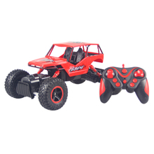 RC Car 0135 1:16 4WD RC Cars 2.4GHz Rock Crawlers Rock Crawlers 4×4 Bigfoot Double Motors Off-Road vehicle 12Km/h use AA battery