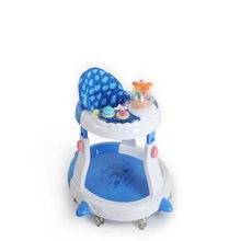 Multi function luxury U shape anti-rollover side collision avoidance music baby walker