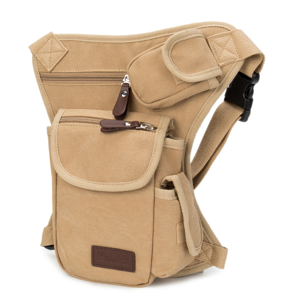55de08424d62 Detail Feedback Questions about Maphissus Hot Sale Men s Multifunction  Outdoor Cotton Sport Leg Bag Canvas Waist Bag Money Belt Pack Travel  Bicycle Bags on ...