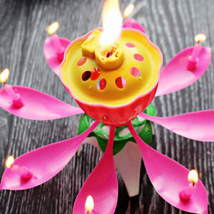 DKSHETOY Children Happy Birthday Party Candle Flower Gifts