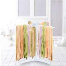 1pc pasta ferramenta de plástico espaguete secagem rack suporte macarrão secagem pendurado titular para cozinha massas accesorios cocina ok 0644