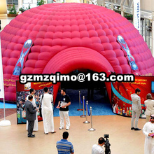 цена Special Design Russia World Cup Inflatable Soccer Football Sport Tent 10x10x5mH oxford cloth giant inflatable dome tent онлайн в 2017 году