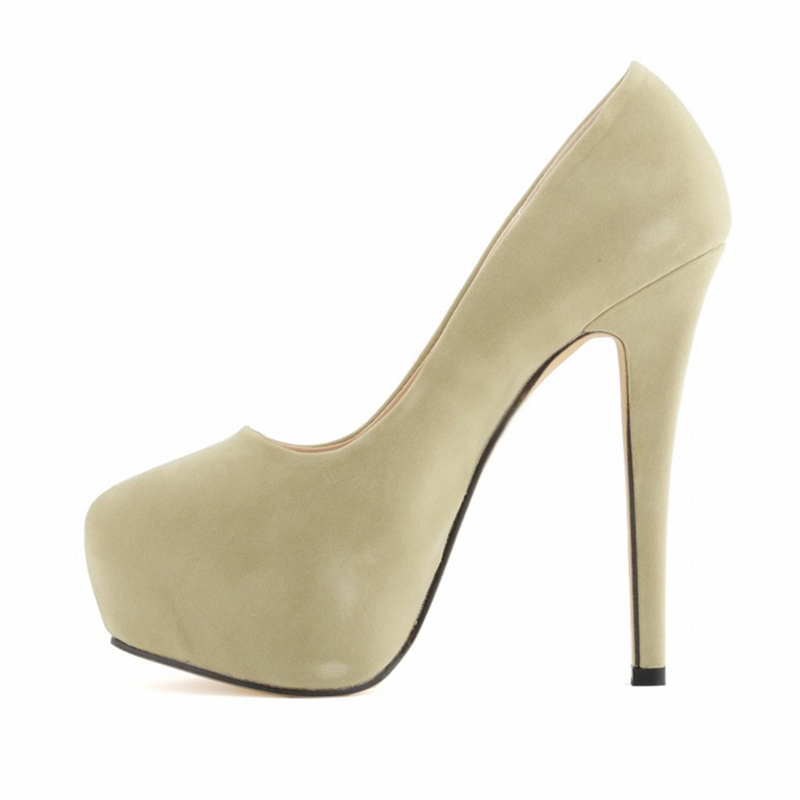 Hot girl in stiletto high heel
