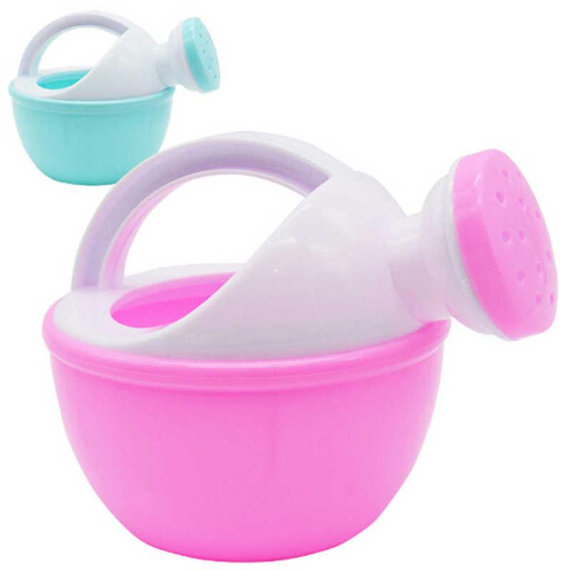 1 pieza de juguete de arena de juguete de regalo para niños de Color aleatorio juguete de baño de bebé regadera de plástico juguete de playa