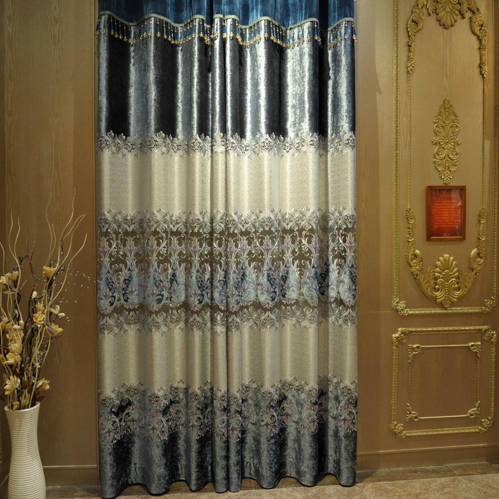 Online kopen Wholesale grijs fluwelen gordijnen uit China grijs ...