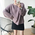 New Women Sweaters And Pullovers Harajuku Kawaii Clothes Autumn Winter Korean Pullover Stripe Retro Cute Knitted Sweater Women