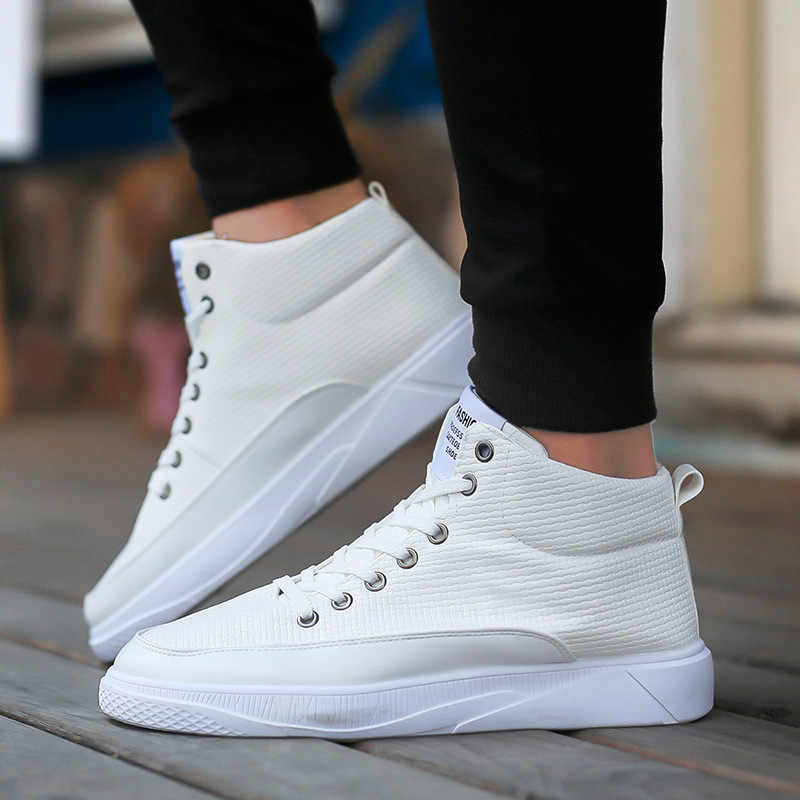 รองเท้าผู้ชายรองเท้าหนังรองเท้าผ้าใบคุณภาพสูงฤดูใบไม้ร่วงฤดูหนาว Tidal Current ชาย botas masculinas สบายๆกลางแจ้งรองเท้าผู้ชาย