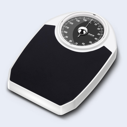 New Arrive Original EKS 150kg White Precision pointer Mechanical FLOOR SCALES Household Upscale Body Weight Scale Spring Balance
